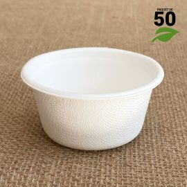 Verrine biodégradable Mini-coupelle Par 50