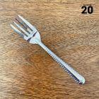 Mini-fourchettes métal inox Par 20 verrines apéritives