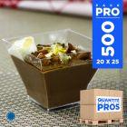 500 Verrines design 12 cl. Recyclables - Réutilisables