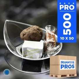 500 Verrines smart 3 cl. Recyclables - Réutilisables