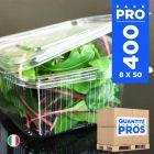 400 Barquettes fraîcheur 1000 gr. Recyclables.