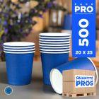 500 Gobelets bleu marine 21 cl. Carton recyclable