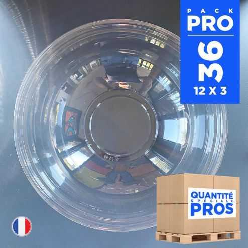 36 Couvercles à saladiers 4,5 litres. Recyclables - Réutilisables