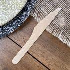 Couteau bois 16,5cm biodégradable Par 50