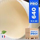 640 Serviettes 40 cm x 40 cm. Biodégradables beiges.