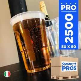 2500 Gobelets Bière 33 cl. Recyclables