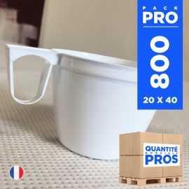 800 Tasses à café 15 cl. Recyclables - Réutilisables.
