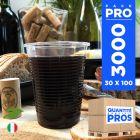 3000 Gobelets OK Compost Biodégradables. PLA 16 cl.