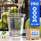 3000 Gobelets OK Compost. Biodégradables. PLA 20 cl
