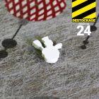 Confettis de table bonhomme de neige.