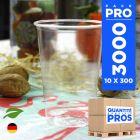 3000 Gobelets OK Compost. Biodégradables. PLA 23 cl.