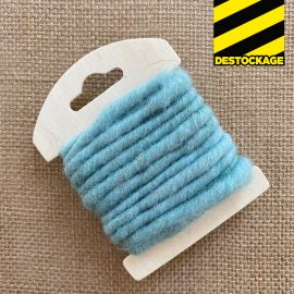 Cordon en laine déco menthe 3 mètres