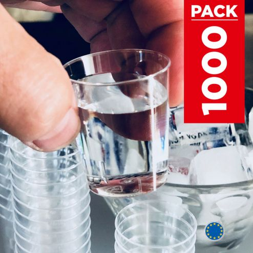 Pack 1000 verres shooter 5cl.