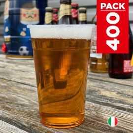 Pack 400 Gobelets bière 40cl Lavables réutilisables