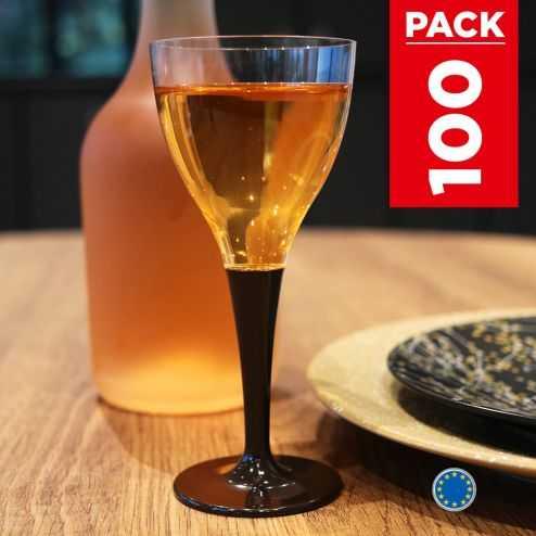 Pack 100 verres chocolat. Lavables - Réutilisables.