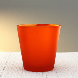 Photophore de table Summer Orange
