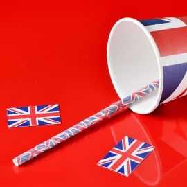 Paille Angleterre tricolore