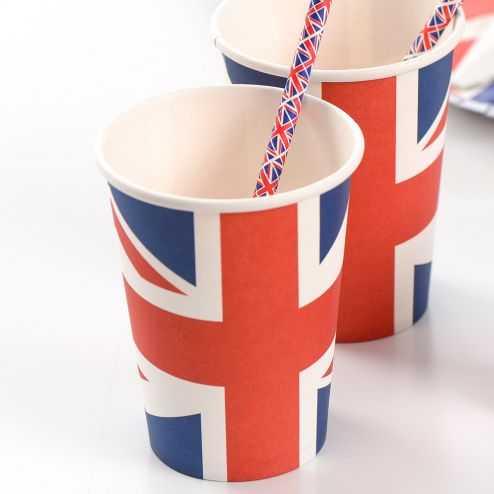 Gobelet Angleterre tricolore