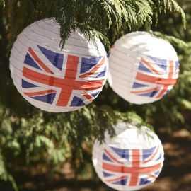 Lanterne Angleterre tricolore