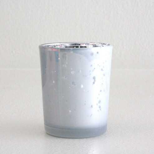 Photophore de table Blanc givre
