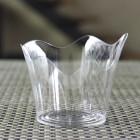 Verrine plastique transparente Orchidée