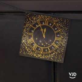 Banderole 15 x 15 cm Bonne Année