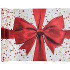 Chemin de table rouge Cadeau de Noël 5 mètres