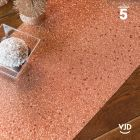 Chemin de table paillettes rose gold. 5 mètres