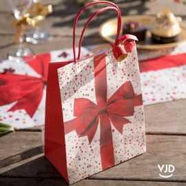 Sac papier Cadeau de Noël 22,5 cm