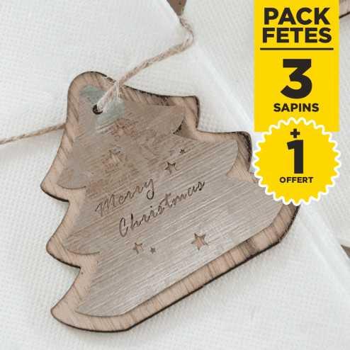 Pack 3 Suspensions bois et Métal + 1 gratuite