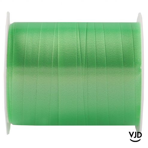 Bolduc uni couleur vert. Bobine 10 mètres