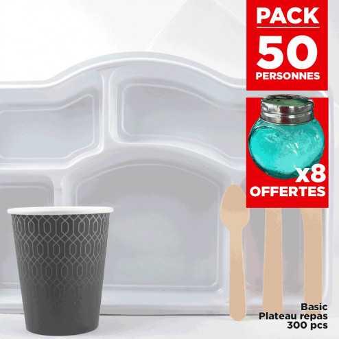 Pack 50 personnes Plateau repas