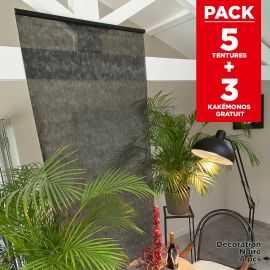 Pack décoration de salle Tentures Noires