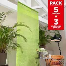 Pack décoration de salle Tentures Vertes