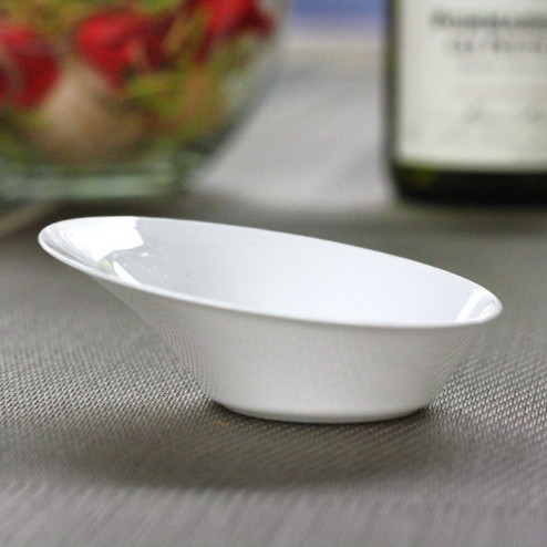 "Verrine plastique ""Cup"" blanche 5 cl"
