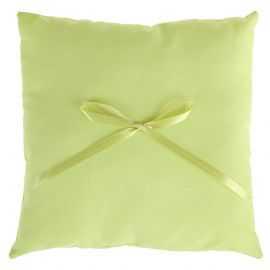 Coussin d'allliance vert. 18 x 18 cm