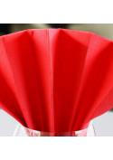 Serviettes en papier Rouge 39 x 39