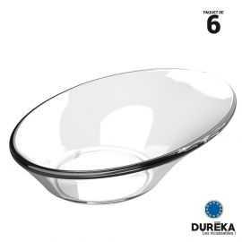 6 verrines-coupelles transparentes incassable, réutilisable 4 cl