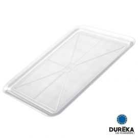 Plateau transparent incassable, réutilisable 37x50 cm