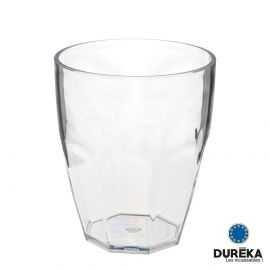 Verre de table transparent incassable réutilisable 35,5 cl design