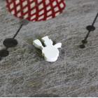 Confettis de table bonhomme de neige