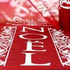Chemins de table de fêtes Noël