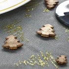 Confettis de table sapin chocolat