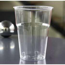 Gobelet plastique cristal transparent 25 cl