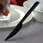 Couteau en plastique style noir