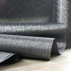 Chemins de table tissu burlap anthracite