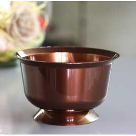 Coupelle chocolat cuivre
