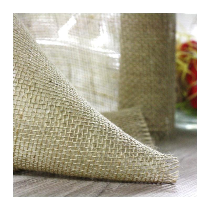 chemin de table jute naturelle maille large vaisselle jetable discount. Black Bedroom Furniture Sets. Home Design Ideas