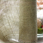 Chemin de table jute naturelle maille large