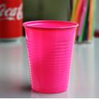 Gobelets plastique fuschia 20 cl